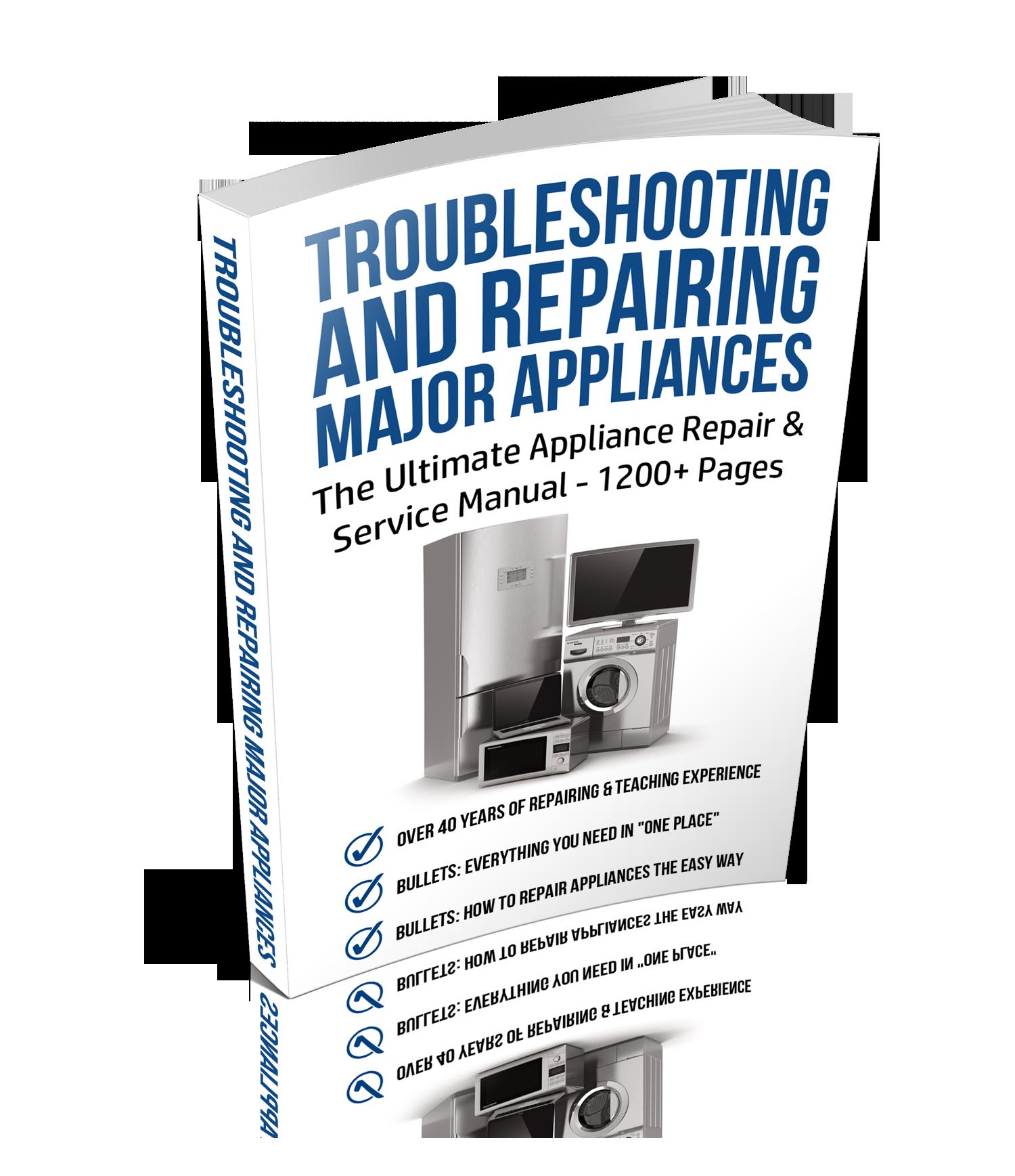 Appliance Repair Training Online Self