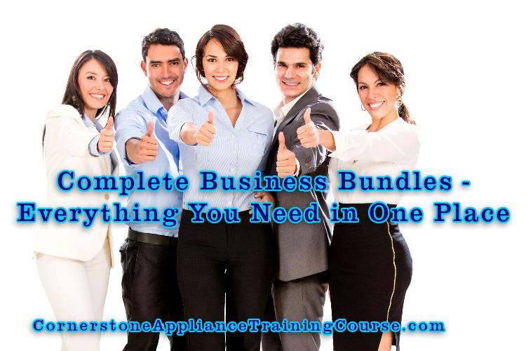 Appliance Training Complete Business Bundles