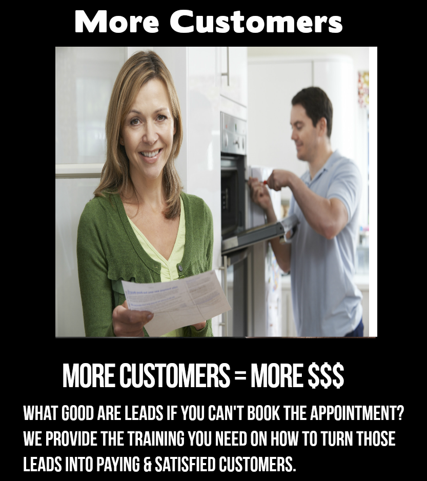 Appliance Repair Leads - Your Appliance Leads Only