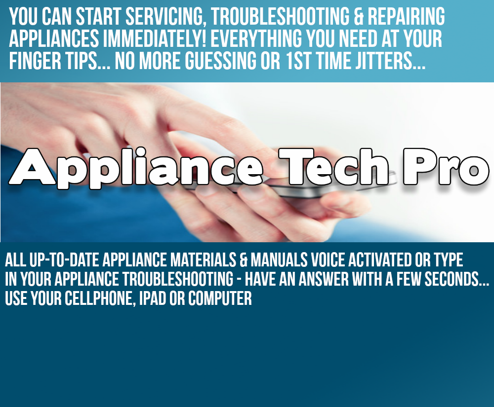 Appliance Repair - Start Servicing, Troubleshooting and Repair Appliances Immediately