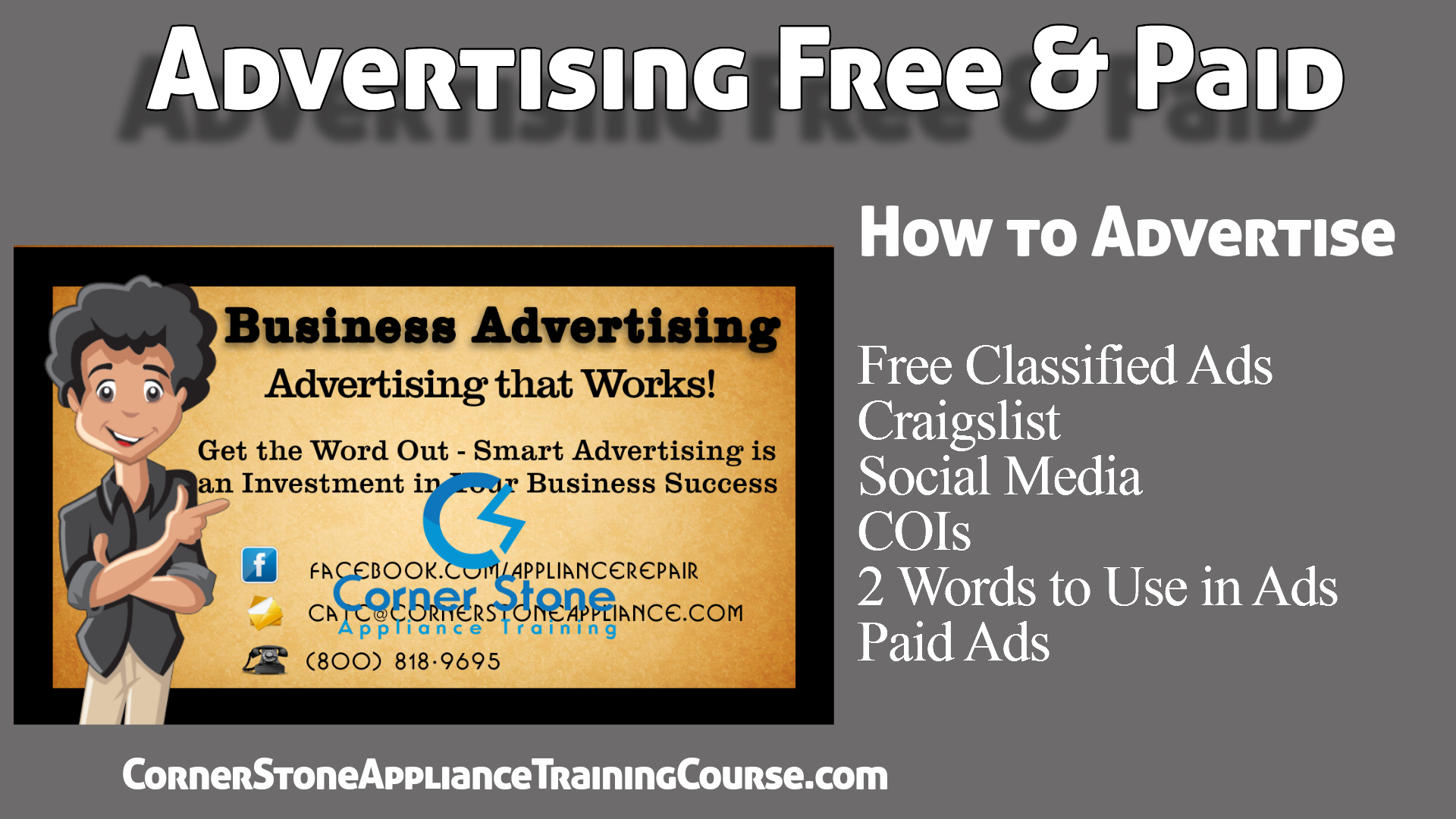 Free Business Advertising How to