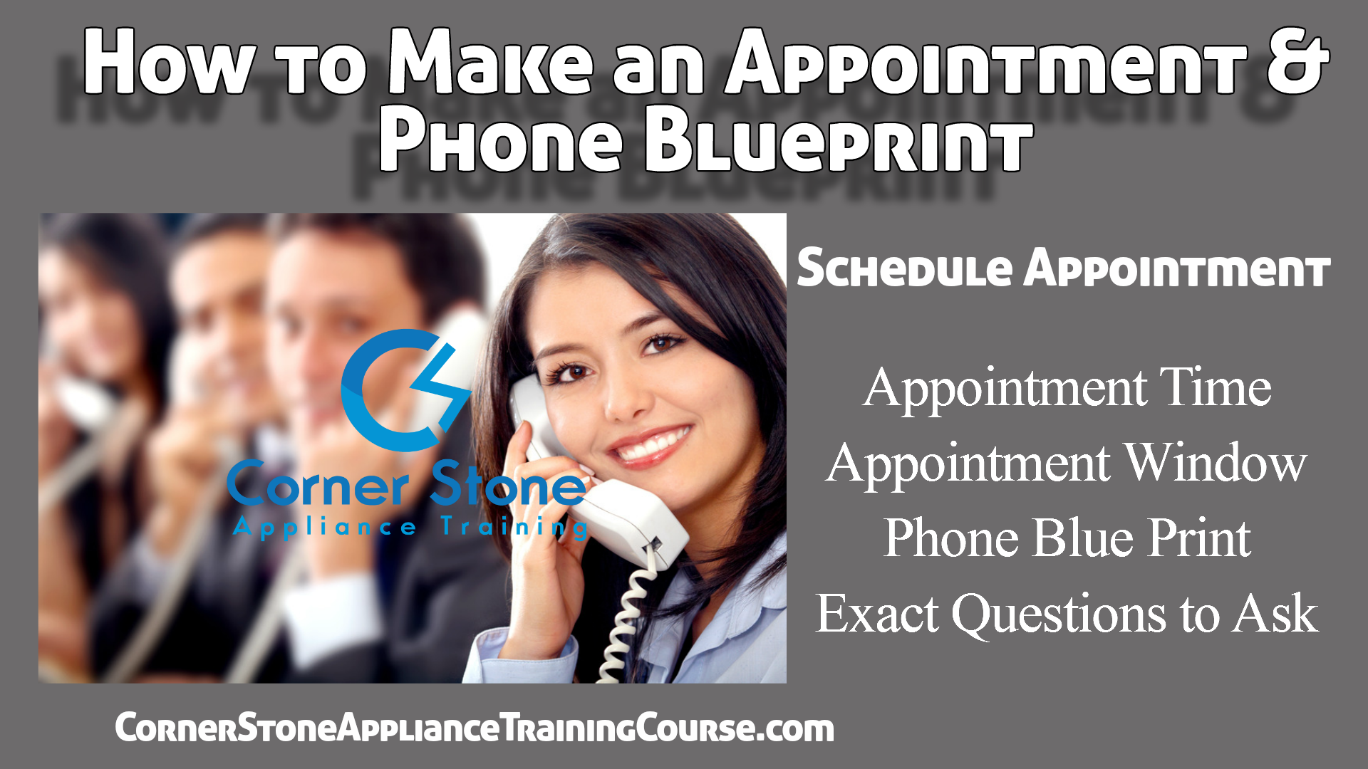 Appointments Phone Blue Print
