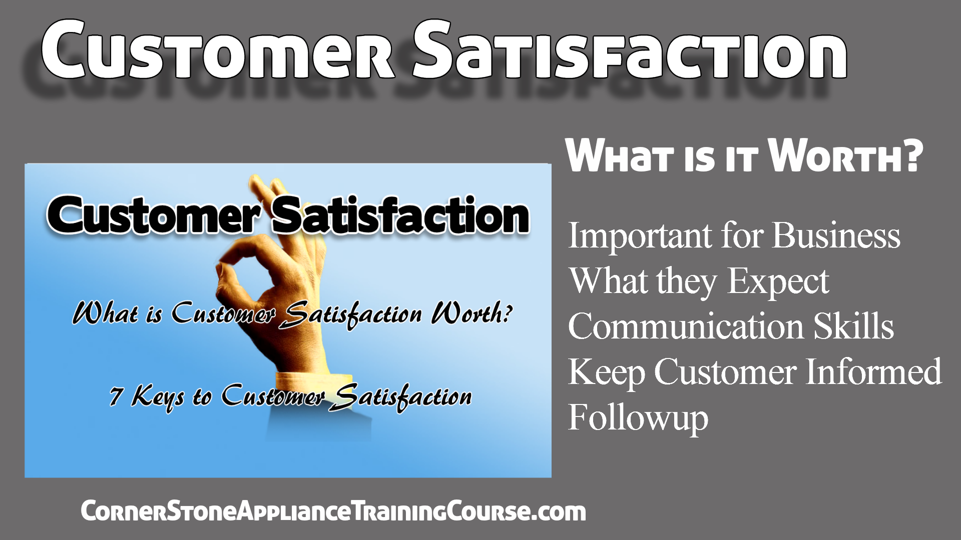 Business - How to Customer Satisfaction