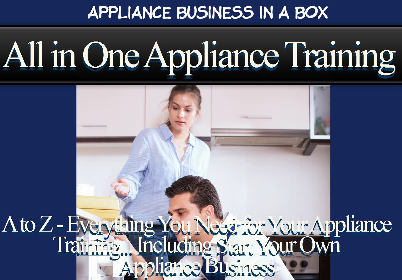 Online Appliance Repair Training Very Affordable