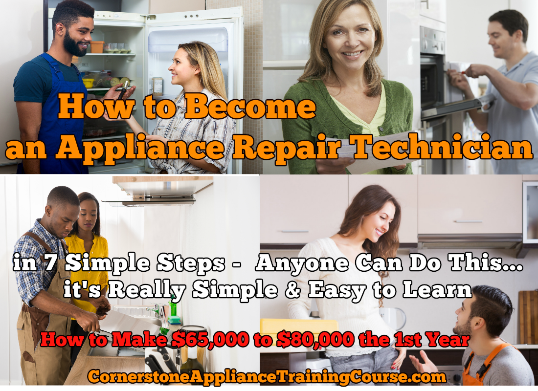 Online Appliance Training Courses or Schools