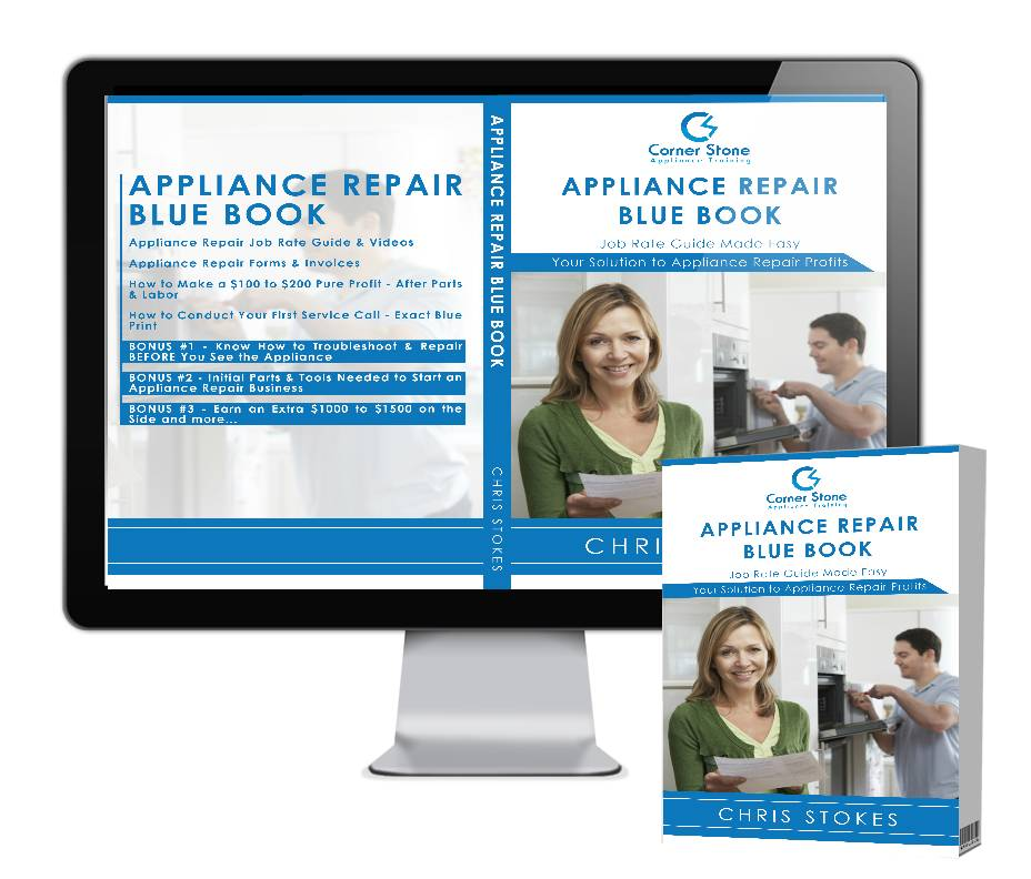 Appliance Repair Blue Book Pricing Guide