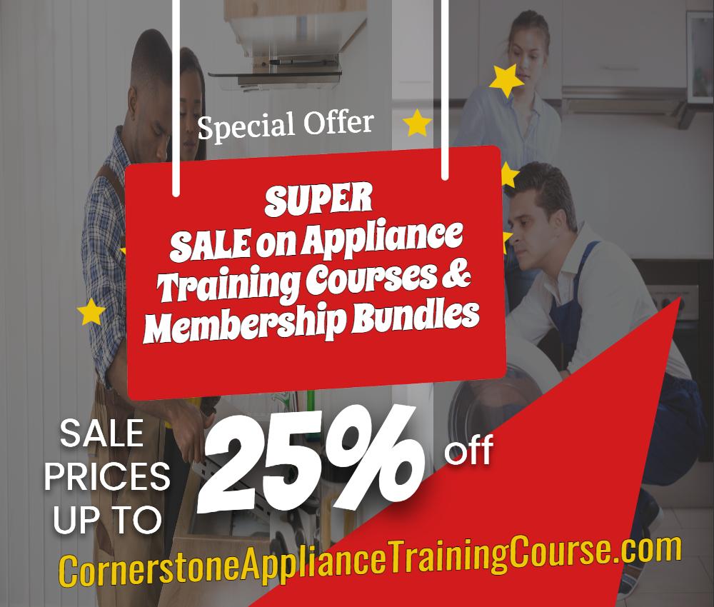 Appliance Repair Training Discount Super Sale